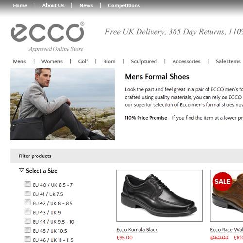 Mens and Womens Ecco Shoes