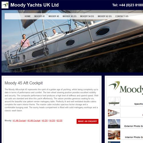 Moody Yachts UK Distributor