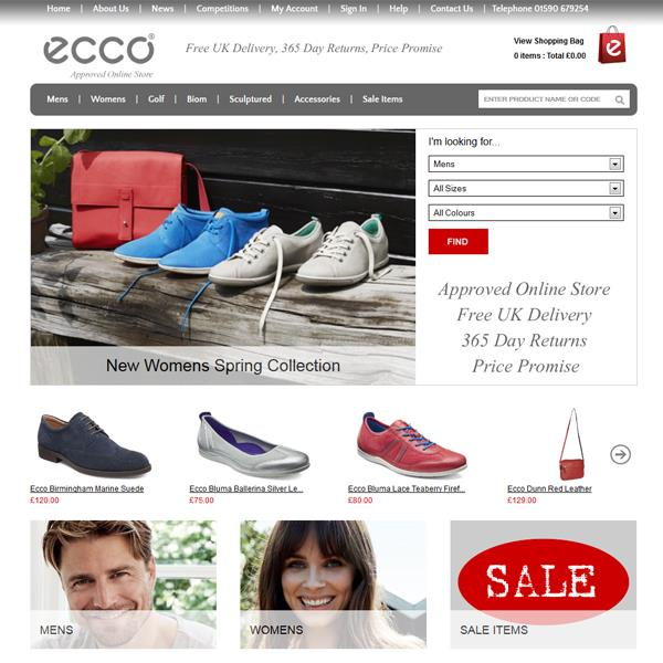 Ecco Shoes Approved Online Store
