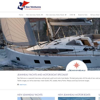 Jeanneau Yachts and Motor Boat Specialist - Apollo Internet Media