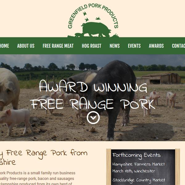 Award Winning Free Range Pork Products