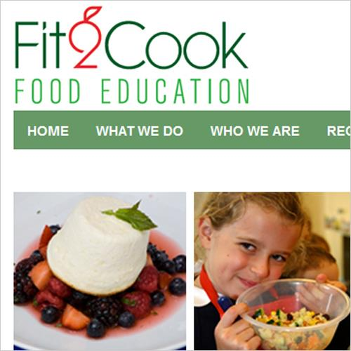 Fit2Cook New Website
