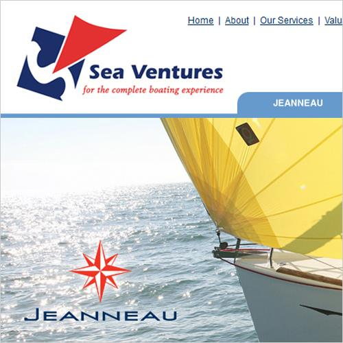 Sea Ventures Refreshing New Site