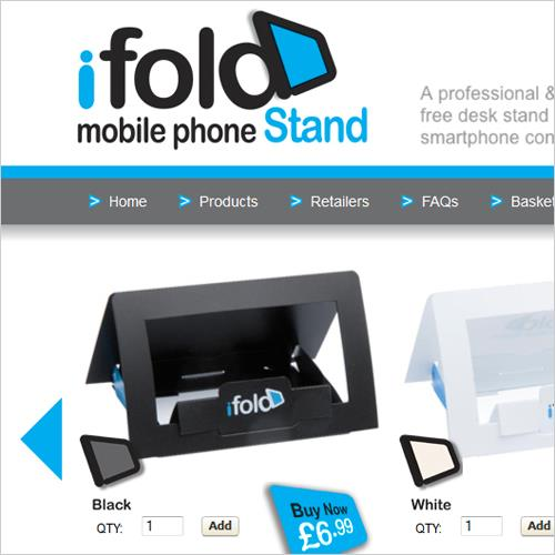 iFold Ecommerce Website