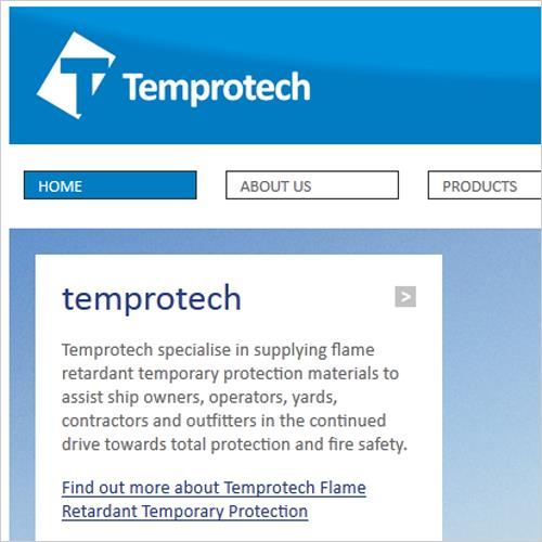 Flame Retardant Temporary Protection