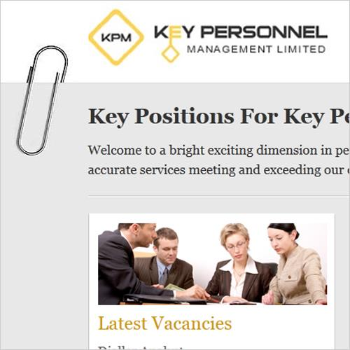 Key Positions for Key People