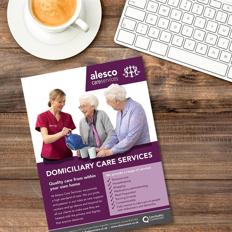 Domiciliary Care Marketing Brochure